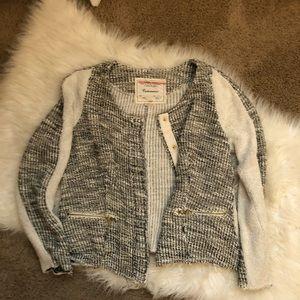 Anthropologie Jackets & Coats - Anthropologie Cartonnier Glimmered Tweed Blazer